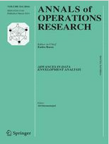 Annals of Operations Research: Special issue on